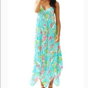 EUC Lilly Pulitzer Rylan Dress Ugotta Regatta Rare